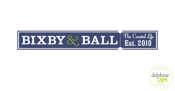 delphine graphic design studio bixby ball store logo