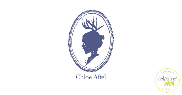 delphine graphic design studio chloe aftel logo