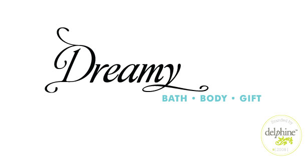 delphine graphic design studio dreamy shop logo