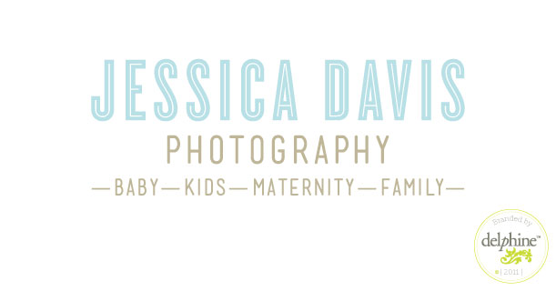 delphine graphic design studio jessica davis photography logo
