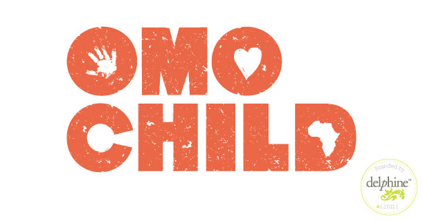 delphine graphic design studio omo child logo