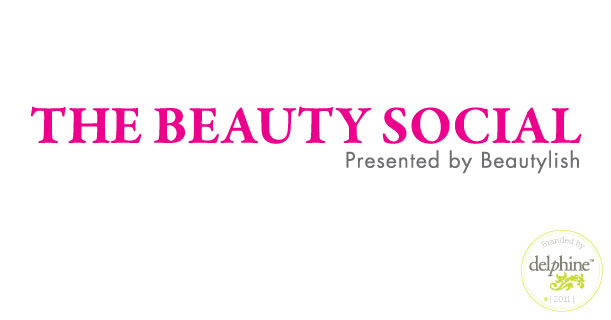 delphine graphic design studio the beauty social logo