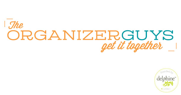 delphine graphic design studio the organizer guys logo
